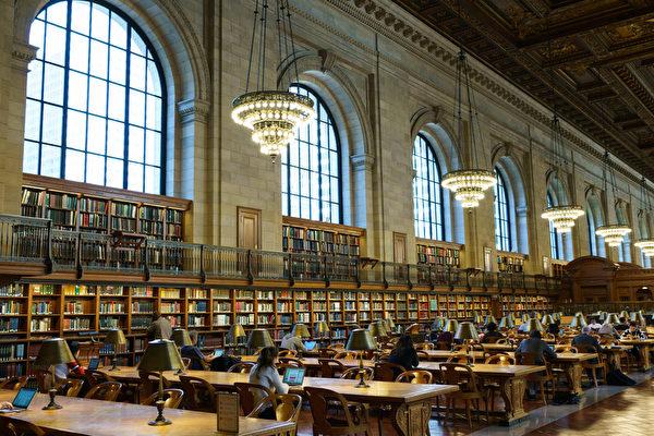 纽约市公共图书馆即日起重新开放