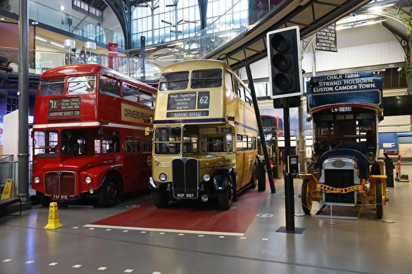 组图:伦敦交通博物馆将于5月17日开放