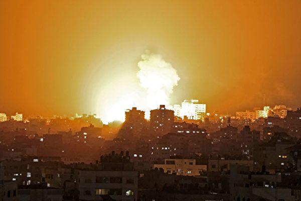 以色列回應哈瑪斯火箭 空襲命中130個目標
