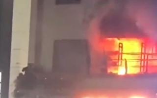 杭州西湖一医疗门诊火灾 至少1死17伤