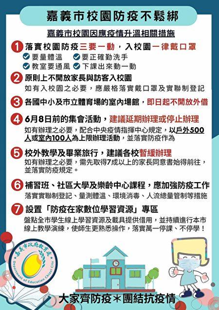 嘉义市政府教育处海报。