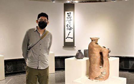 張浩硯的第一次個展「尋路人」為自己達成一個里程碑,也給自己一個經驗和責任。