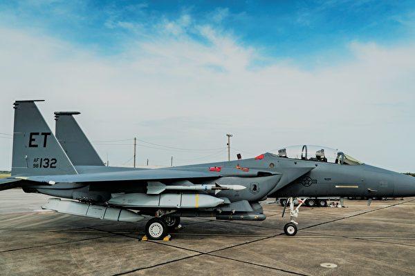 美空军新点子:F-15E攻击鹰战机变身轰炸机