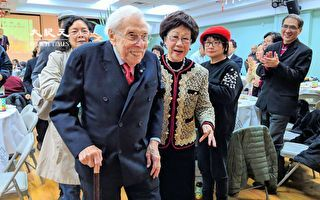 《台湾关系法》起草人沃尔夫逝世 享寿102岁