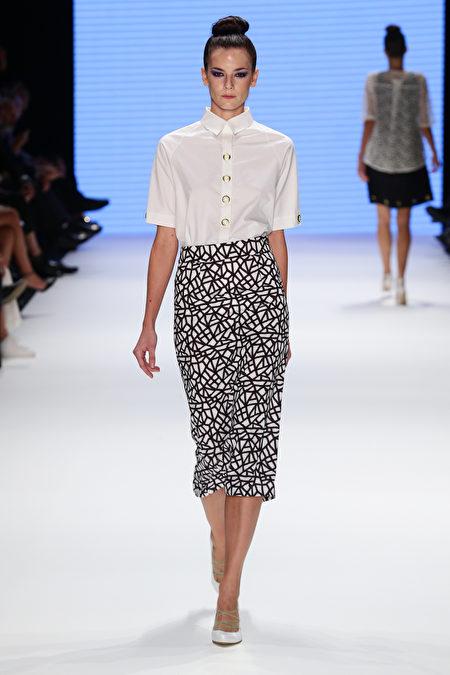 时装周, 时尚, 穿搭, 衬衫, 裙
