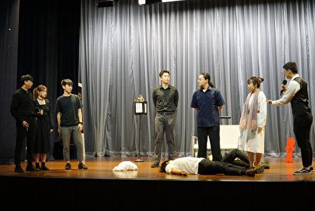 大葉大學英語系演出畢業公演戲劇給文興高中學生欣賞。