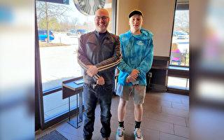睽違18年「星巴克嬰兒」與助產咖啡師重逢