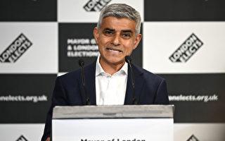 倫敦市長汗連任