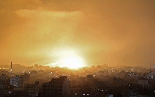 协同战机 以色列坦克炮兵向哈马斯进攻