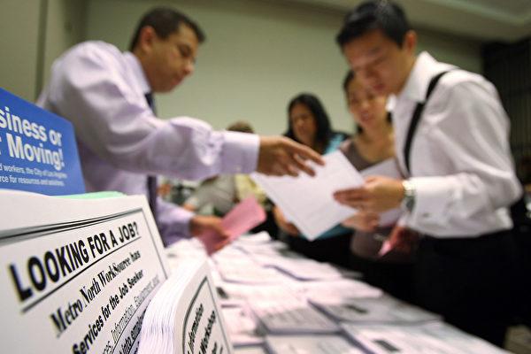 加州失業金積壓件數 達到近兩個月新高