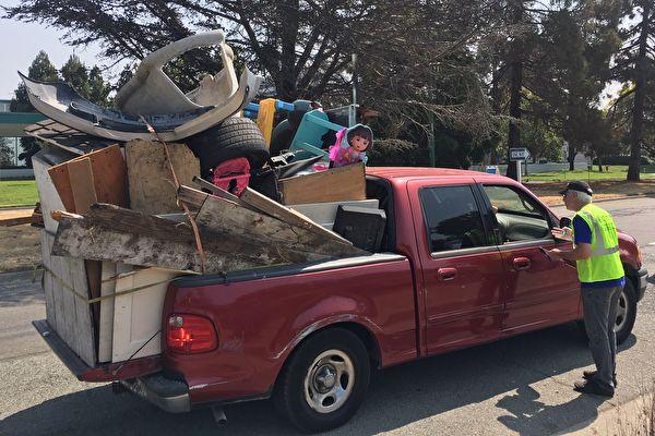 东湾奥克兰市恢复大件物品回收活动