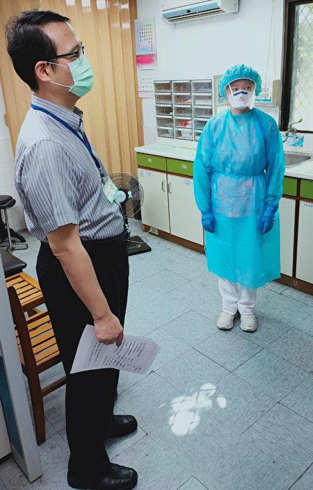 八德荣家依指挥中心防疫指引提升防疫作为强度与密度。