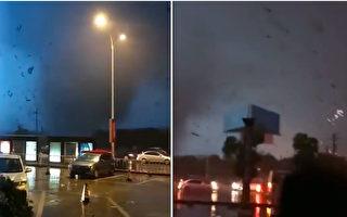 龙卷风突袭武汉苏州 致1人死6失联62伤