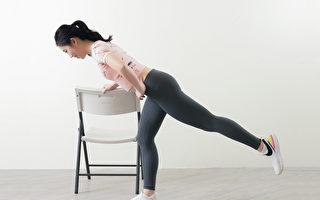 保护膝关节,应该加强臀部肌肉力量。(采实文化提供)
