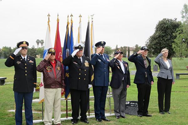 陣亡紀念日 老兵囑咐年輕人:請照顧好我們國家