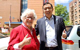 紐約州參議員史塔文斯基背書楊安澤競選紐約市長
