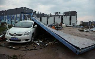 组图:武汉市遭遇9级龙卷风 至少6死218伤