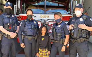 中彈後倖存 7歲童與拯救生命的急救員團聚