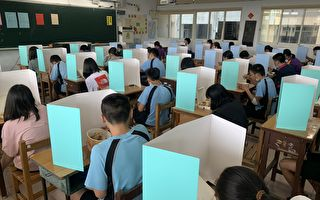 國中教育會考首日  基隆考區高規格防疫措施