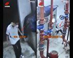 央視公布成都學生墜樓監控錄像 被指漏洞百出