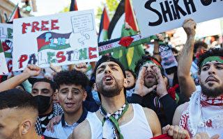 以巴冲突延烧 加拿大多地举行抗议集会