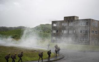组图:美日法三国于日本雾岛举行联合军演