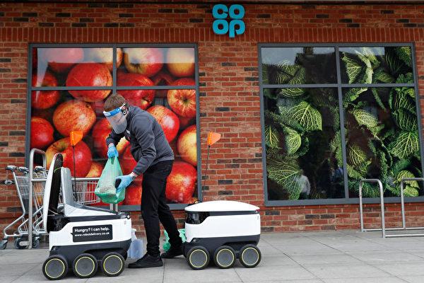 疫情下 機器人送貨上門 需求激增