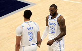 NBA湖人及勇士附加賽交鋒 爭季後賽第7種子