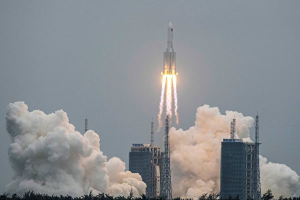 中共火箭失控事件 促专家呼吁限制太空残骸