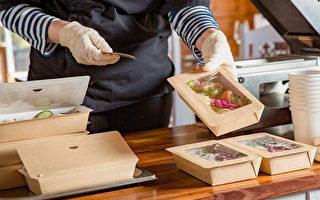 外出用餐、叫外送食物,应该如何避免吃下新冠病毒?(Shutterstock)