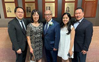 法官伍元天  任紐約華裔美國退伍軍人會新主席