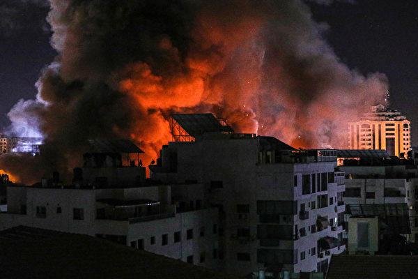 以巴军事冲突加剧 黎巴嫩射火箭弹遭回击