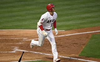 MLB大谷翔平敲第13轰 张育成代打吞老K