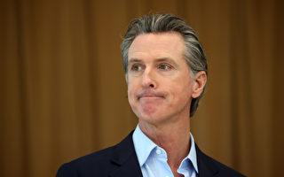 紐森任加州州長首年 收入增約50萬美元