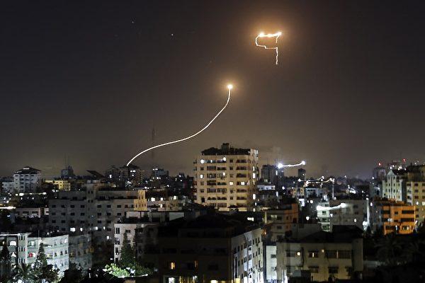 以色列鐵穹再發威 首次攔截哈馬斯無人機