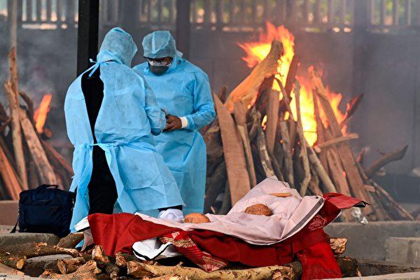 印度新增4454例死亡 累计死亡人数破30万