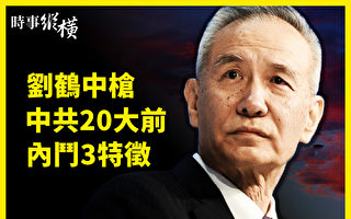 """【时事纵横】刘鹤""""中枪""""中共20大前内斗三特征"""