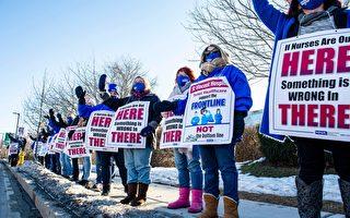 渥斯特護士罷工無果 院方態度強硬