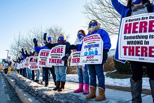 聖文森特醫院護士罷工半年 或停失業福利