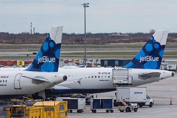 捷蓝航空夏季末  开通纽约伦敦航线