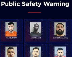 卑诗警方公布11名黑帮分子名单