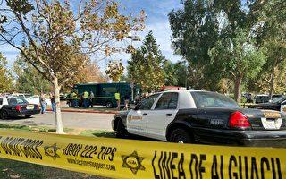 哈崗發生槍擊 車中兩人1死1傷