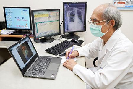 天晟醫院落實防疫政策,提供視訊遠距醫療門診。