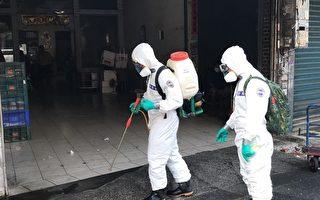 屏县新增3例 潮州设快筛站化学兵进驻消毒