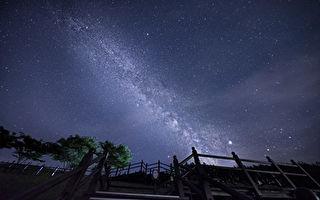 後花園中 醫生拍攝距地球兩百萬光年美麗星空