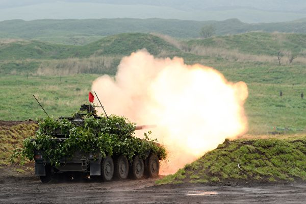 組圖:日本自衛隊於靜岡縣大規模實彈演習