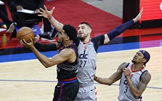 NBA哈里斯、恩比德連線 76人力克奇才