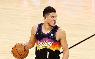 NBA布克破季後賽紀錄34分 太陽蒸發湖人