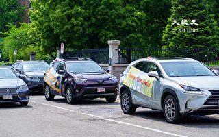 【視頻】波士頓僑團車遊 支持台灣入WHA