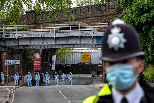 英国黑命贵骨干头部中枪 警方认为是随机事件